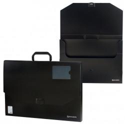 Папка портфель А3 для документов пластиковая Brauberg Портфолио 1 отделение 226023