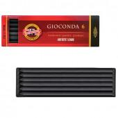 Уголь искусственный для рисования KOH-I-NOOR Gioconda твердый 6 шт 8673003005PK