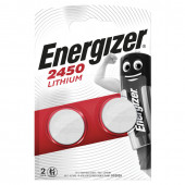 Батарейки литиевые Energizer CR2450 2 шт E300830702 (452219)