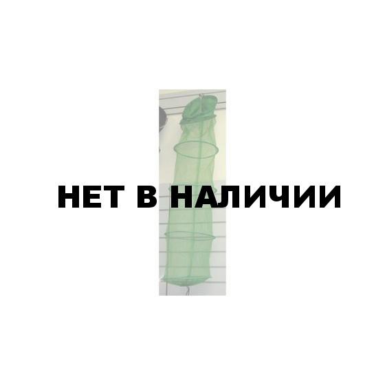 Садок SWD 5408011 береговой 5к (d-30см,l-1,5м, мелкая сетка,колышек)