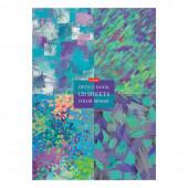 Блокнот А4 Hatber Mosaic 120 листов, блок 5 цветов, клетка 120ББ4В1_22006