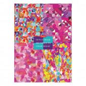 Блокнот А4 Hatber GraphicArts 160 листов, блок 5 цветов, клетка 160ББ4В1_22025