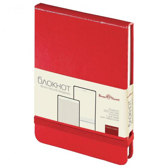 Блокнот на резинке А6 Bruno Visconti 100 листов 3-104/04