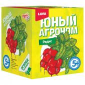 Набор для выращивания растений Lori Юный Агроном Редис Р-013
