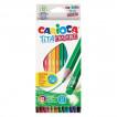 Карандаши цветные стираемые с резинкой Carioca Erasable 12 цветов 42897