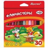 Фломастеры Гамма Мультики 30 цветов 180319_08