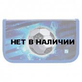Пенал школьный Brauberg Футбол 2 отделения 228099