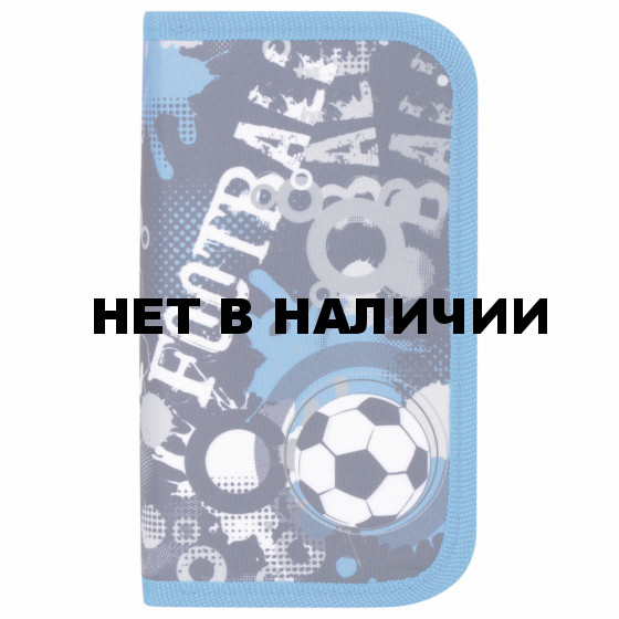 Пенал школьный Юнландия Football 2 отделения 229160