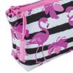 Пенал косметичка Brauberg Flamingo 229254