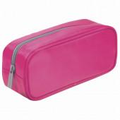 Пенал косметичка Brauberg King Size Neon Pink 229019