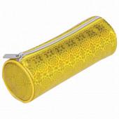 Пенал тубус Brauberg Glitter Gold 229016