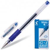 Ручка гелевая с грипом Pilot G-1 Grip линия 0,3 мм синяя BLGP-G1-5