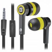 Наушники с микрофоном (гарнитура) вкладыши проводные Defender Pulse 420 (63421)