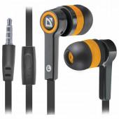 Наушники с микрофоном (гарнитура) вкладыши проводные Defender Pulse 420 (63420)