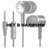 Наушники с микрофоном (гарнитура) вкладыши проводные Defender Pulse 427 (63427)