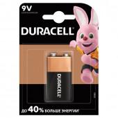 Батарейка алкалиновая Duracell Basic 6LR61 (Крона) 1 шт (450427)