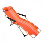 Кресло шезлонг складное Boyscout Orange (сталь) 61175 УЦЕНЕННЫЙ
