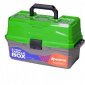 Ящик для снастей Nisus Tackle Box трехполочный зеленый N-TB-3-G