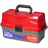 Ящик для снастей Nisus Tackle Box трехполочный красный N-TB-3-R