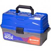 Ящик для снастей Nisus Tackle Box трехполочный синий N-TB-3-B