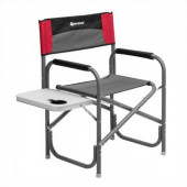 Кресло алюминиевое складное со столиком Nisus N-DC-95200T-GRD