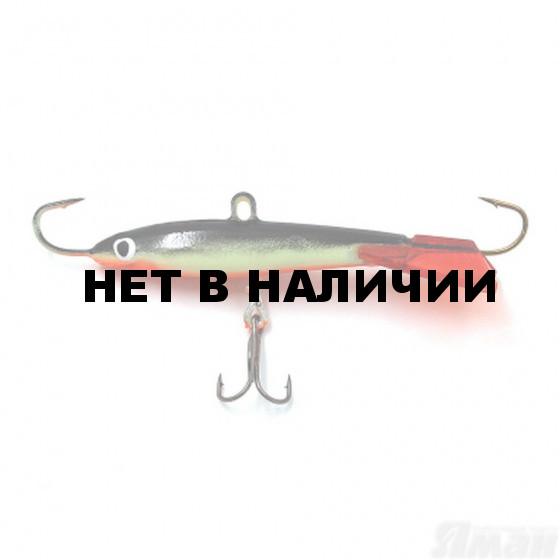 Балансир ЯМАН Тюлька Fluo, 5 см, 13 г, цвет 23 Я-БР87