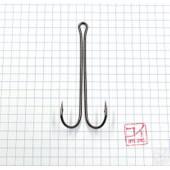 Крючок Koi 3 XL Double Hook № 4/0, BN, двойник (10 шт.) KH2421-4/0BN