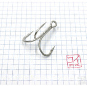 Крючок Koi 6066 № 2/0, MT, тройник (10 шт.) KH3341-2/0MT