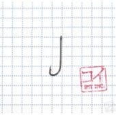 Крючок Koi Long Plainshank № 12, BN (10 шт.) KH9451-12BN
