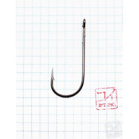 Крючок Koi Round Round Worm № 5/0, BN, офсетный (10 шт.) KH6211-5/0BN