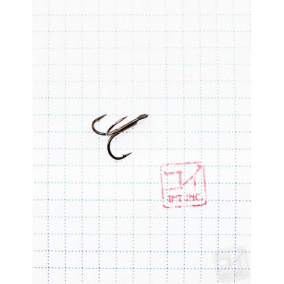 Крючок Koi Round Treble № 8, BN, тройник (10 шт.) KH3291-8BN
