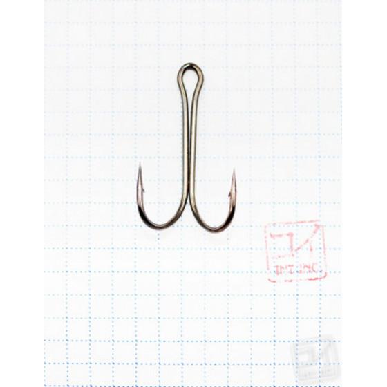 Крючок Koi Short Double Hook № 2/0, BN, двойник (10 шт.) KH2311-2/0BN