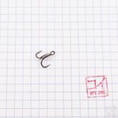 Крючок Koi Slender Round Treble № 14, BN, тройник (5 шт.) KH3236-14BN