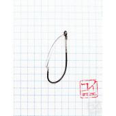 Крючок Koi Weedless Single Hook № 1, BN, незацепляйка (10 шт.) KH5241-1BN