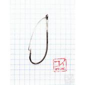 Крючок Koi Weedless Single Hook № 3/0, BN, незацепляйка (10 шт.) KH5241-3/0BN