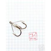 Крючок Koi Weedless Treble Hook № 1, BN, тройник незацепляйка (5 шт.) KH2335-1BN