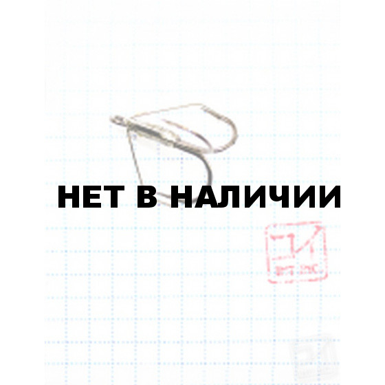 Крючок Koi Weedless Treble Hook № 2, BN, тройник незацепляйка (5 шт.) KH2335-2BN
