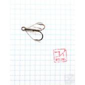 Крючок Koi Weedless Treble Hook № 4, BN, тройник незацепляйка (5 шт.) KH2335-4BN