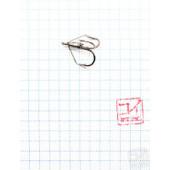 Крючок Koi Weedless Treble Hook № 6, BN, тройник незацепляйка (5 шт.) KH2335-6BN