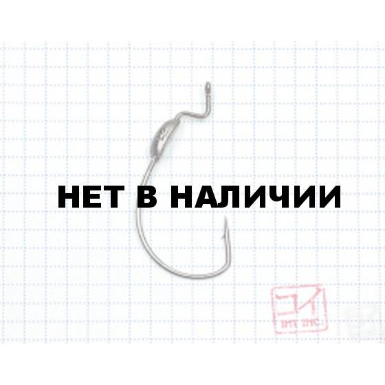 Крючок Koi WEIGHT Hook № 3/0, вес 1,2 г, BN, офсетный (10 шт.) KH8361-3/0BN