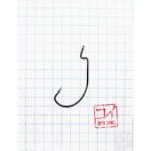 Крючок Koi Wide Range Worm № 2, BN, офсетный (10 шт.) KH6221-2BN