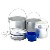 Набор туристической посуды Tramp алюминий TRC-002