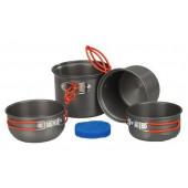 Набор туристической посуды Tramp алюминий TRC-075