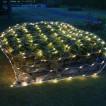 Уличная светодиодная гирлянда (теплый свет) Vegas Сеть 144 LED, 1,2х1,5 м, 24V 55030