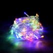 Уличная светодиодная гирлянда (мультиколор) Vegas Бахрома 72 LED, 18 нитей, 3х0,6 м, 24V 55089