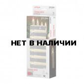 Елочные свечи светодиодные беспроводные Vegas 10 шт на батарейках, пульт 55118