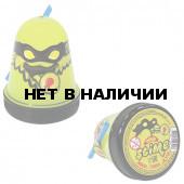 Слайм (лизун) Slime Ninja, светится в темноте, желтый, 130 г S130-19