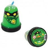 Слайм (лизун) Slime Ninja, светится в темноте, зеленый, 130 г S130-18