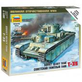 Сборная модель Звезда Тяжелый советский танк Т-35 (1:100) 6203