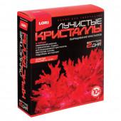 Набор для выращивания кристаллов Lori Красный кристалл Лк-001